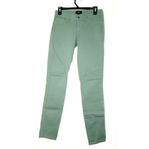 Cello Size 5 Green Skinny Jeans